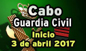 Curso intensivo de preparación para Ascenso a Cabo de la Guardia Civil