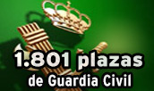 Plazas para guardia civil