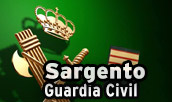 Ascenso a Sargento de la Guardia Civil.